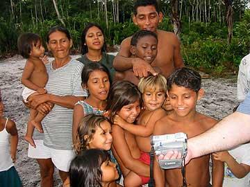 David & Sue Tall: Amazonia, February 2000